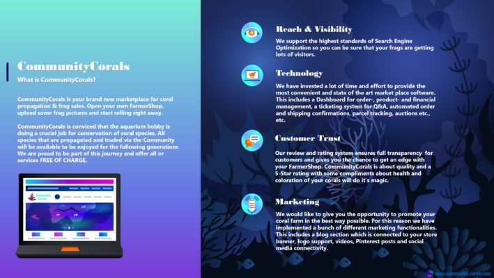 Learn more about CommunityCorals